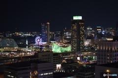 神戸市役所からの夜景①