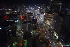 神戸市役所からの夜景②