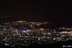 掬星台からの神戸の夜景