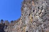 華厳の滝の柱状節理