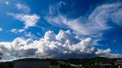 夏の積乱雲