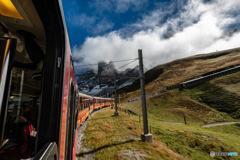 スイス ユングフラウ鉄道4