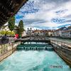 スイス ルツェルン 水車の跡地