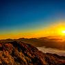 八方尾根 朝陽