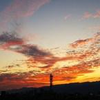 PENTAX PENTAX K100Dで撮影した(茜の雲)の写真(画像)