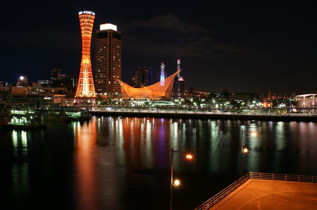 オレンジ色の神戸