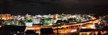 天都山中腹の夜景