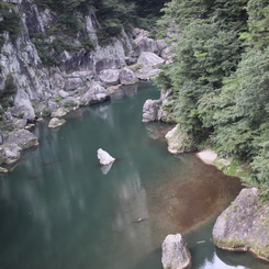 CANON Canon EOS Kiss X3で撮影した風景(鬼怒楯岩大吊橋7)の写真(画像)