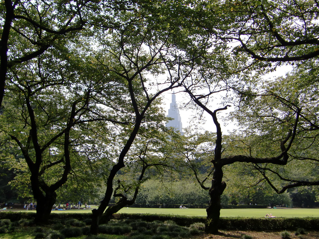 新宿御苑@イギリス風景式庭園