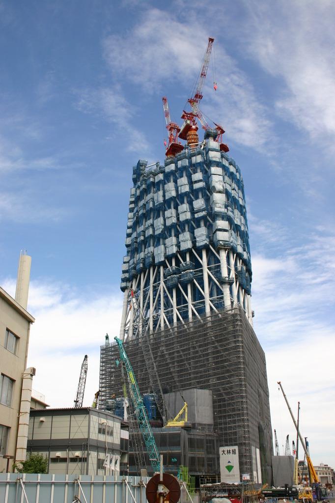東京スカイツリー工事進行状況