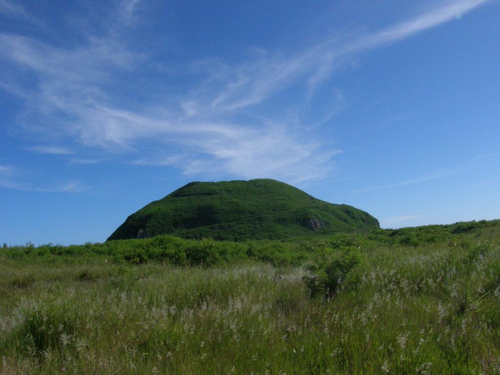 硫黄島・摺鉢山