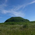 OLYMPUS SP550UZで撮影した風景(硫黄島・摺鉢山)の写真(画像)