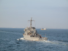 観艦式参加艦艇のリハーサル(5)