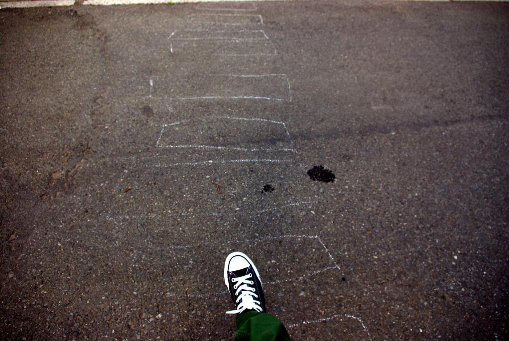 手書き横断歩道