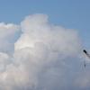 雲をつかむような写真