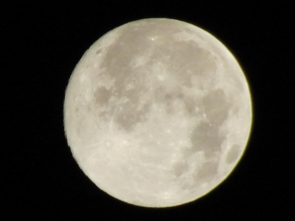 月は出ているか!