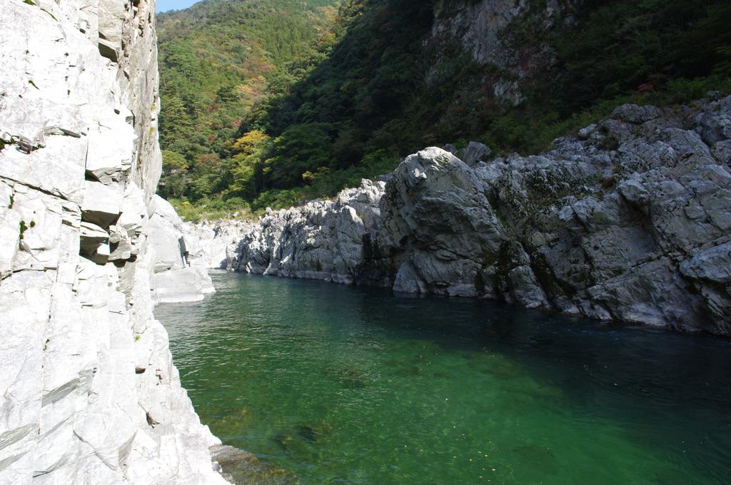 きれいな川。