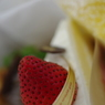 PENTAX PENTAX K-7で撮影した食べ物(イチゴなショート!)の写真(画像)