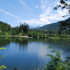Lake in Whistler Canada