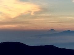 富士山捜しの条件反射