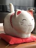 張り子のネコ