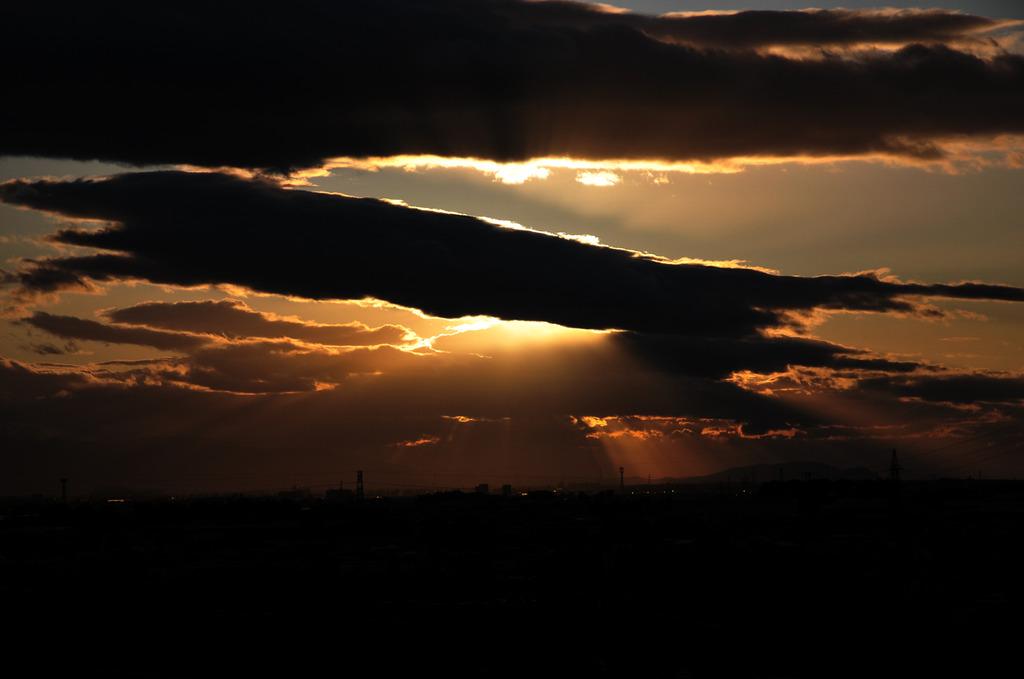 golden sun set