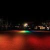 虹色の夜景