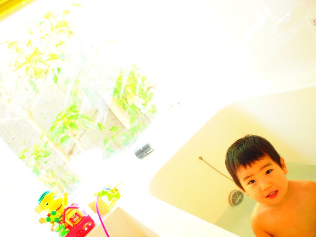 やっぱり風呂が好き
