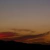 夕焼け・巻雲