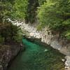 青と緑の淵
