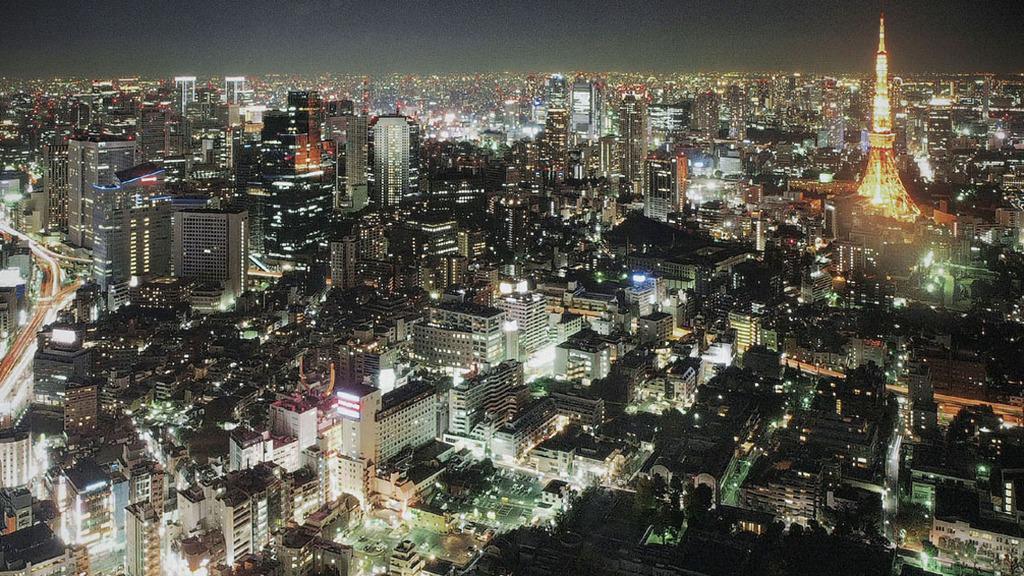 夜景(東京・六本木ヒルズ)