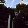新宿中央公園 富士見台 六角堂