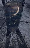 グラスの中の月
