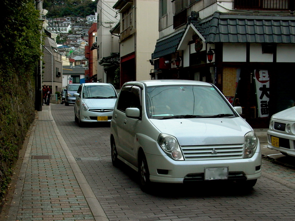 Nagasaki Historic Road with Car