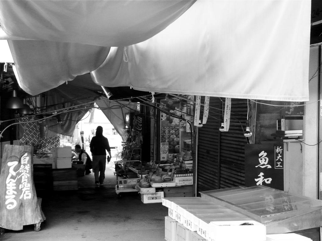 market : Shindaiku, Nagasaki city
