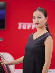 FMS2017 Woman in ( Ferrari ) Red