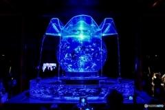 Blue Light Fishbowl : Nijo-jo Castle