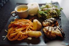 ブレイクタイム:本日の One Plate Lunch