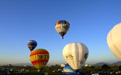 2nd Ballon flight start