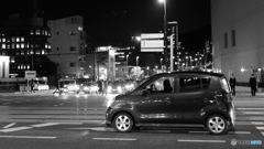 Scenery with Kei-Car