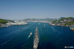 今日の入り船:帆船パラダ
