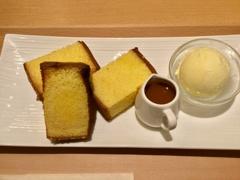 NAGASAKI EAT : castella butter grill