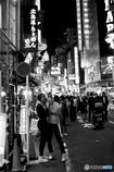 Shibuya Night people