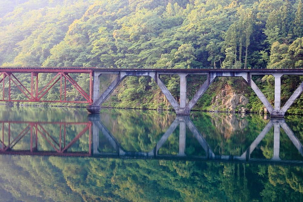 高千穂鉄道の鉄橋 2