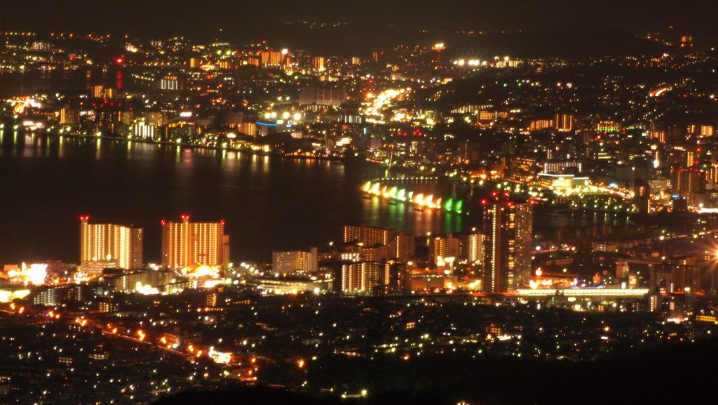 大津の夜景 at916