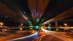 高速道路の真下