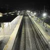 夜の成東駅