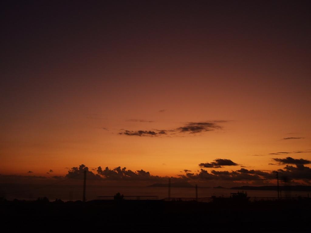 ナポリの夕焼け