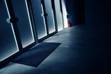 Back door that light enters