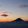 朝焼け吊るし雲